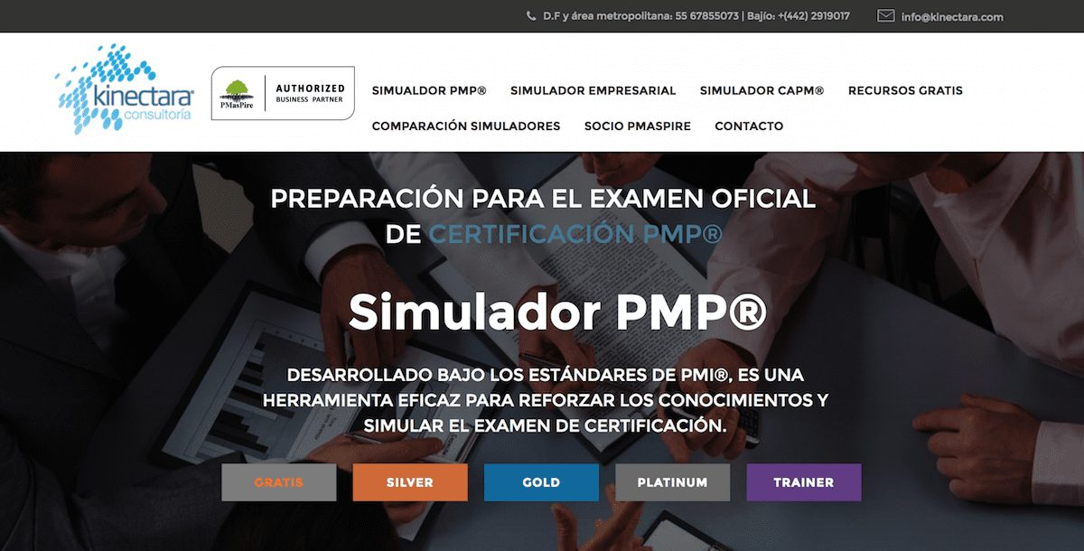 PMaspire and Kinectara (Mexico) Launched Spanish PMP Exam Simulator Globally