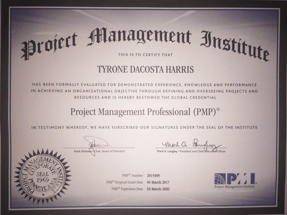 Tyron Harris #pmaspire