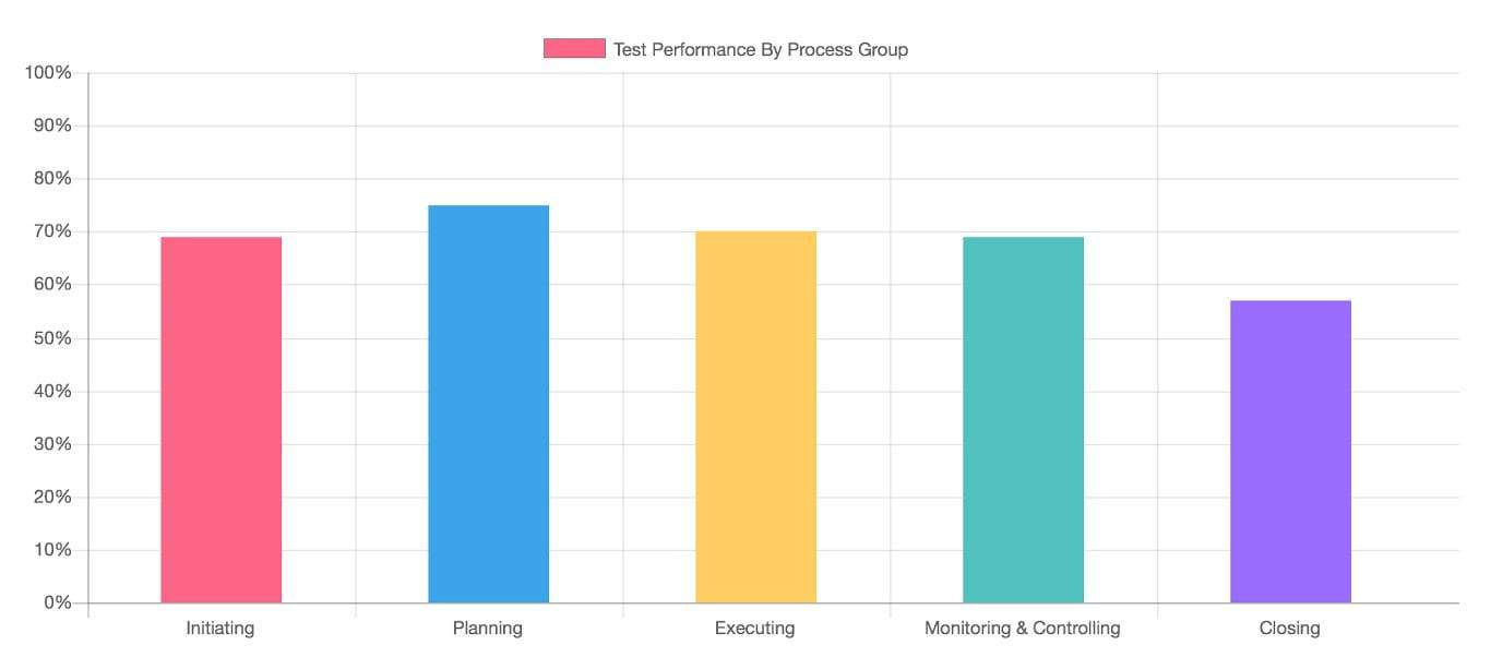 Performance Report by Process Group: