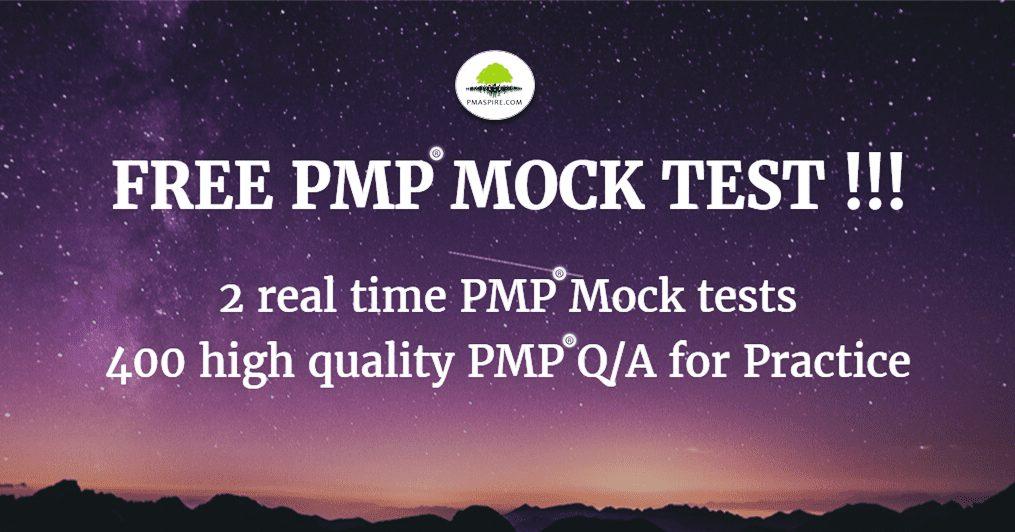 Free PMP Mock Test