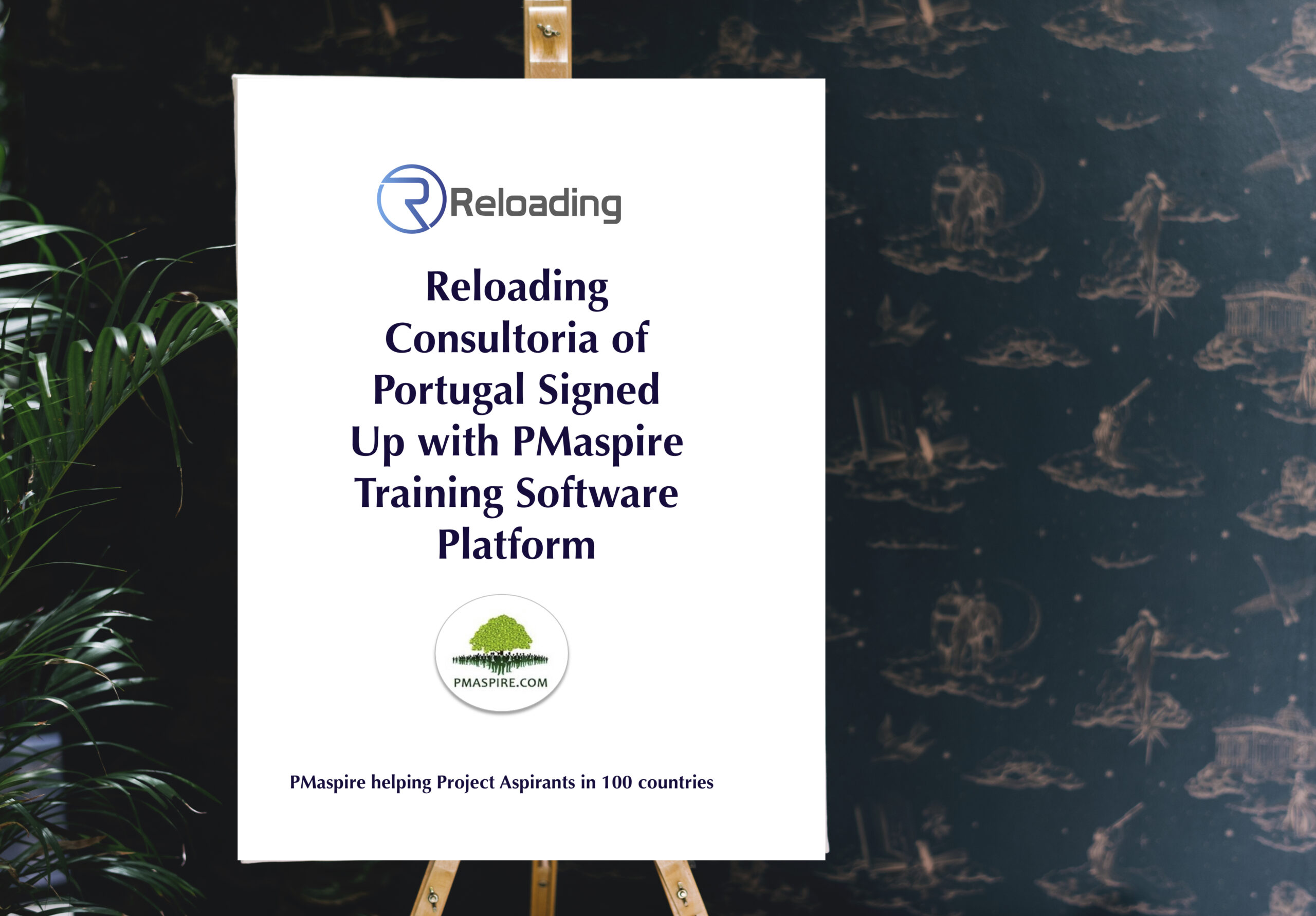 Reloading Consultoria from Lisbon, Portugal signed up with PMaspire Training Software