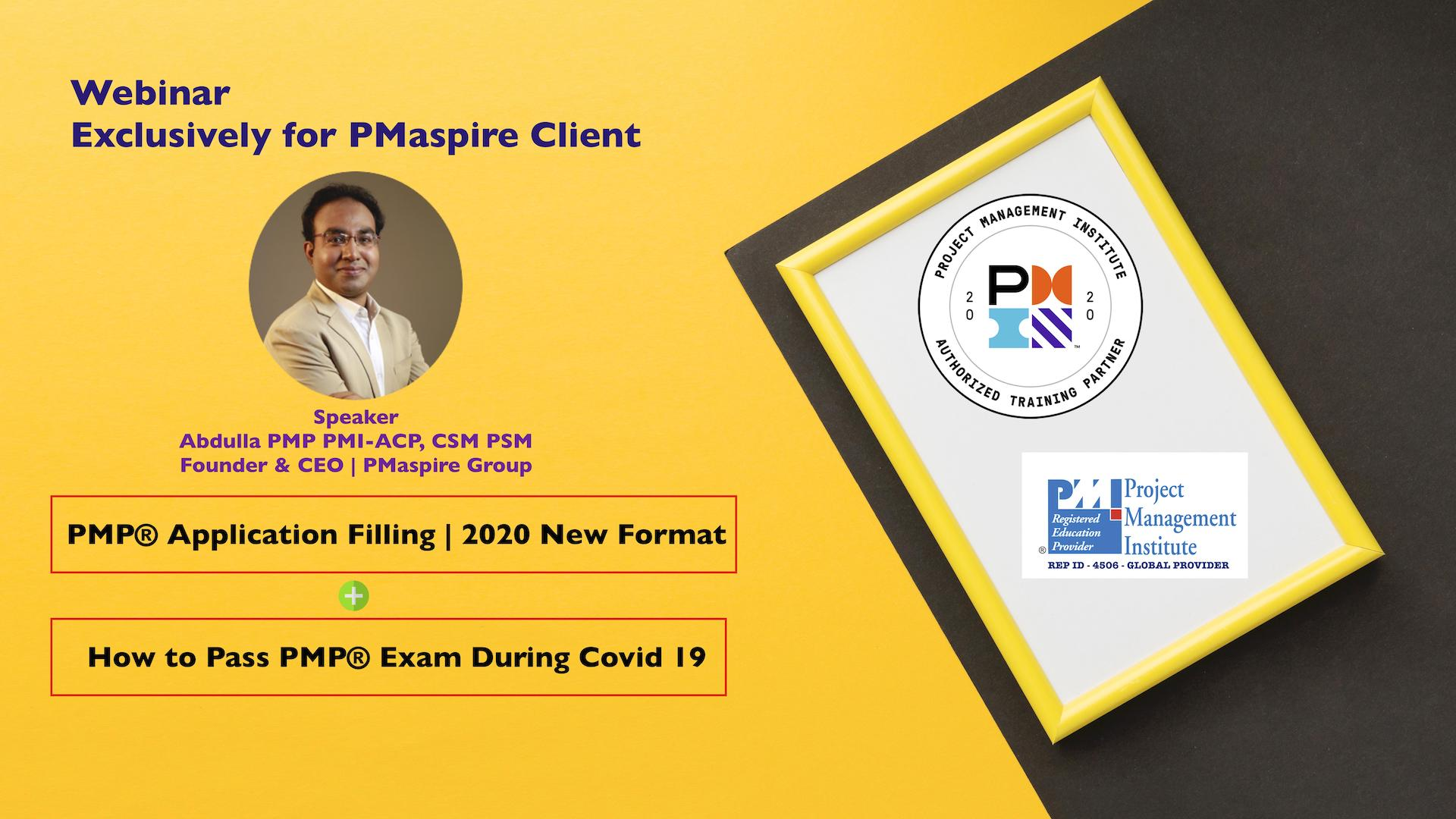 Webinar on PMP Exam Preparation copy