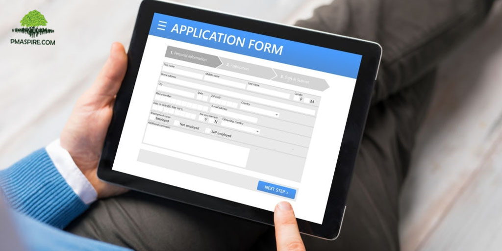 PMP Application Fill Up