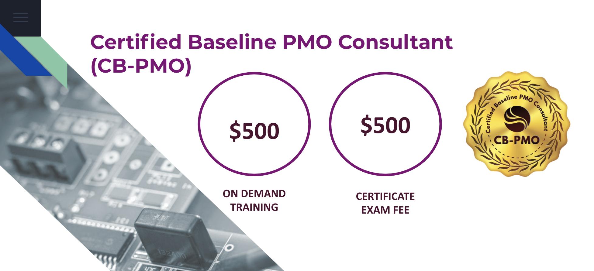 Certified Baseline PMO Consultant (CB-PMO)